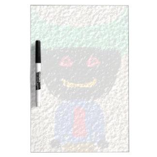 A strange alien Person Dry-Erase Board
