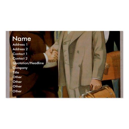 A Stranger in A Strange Life Business Cards