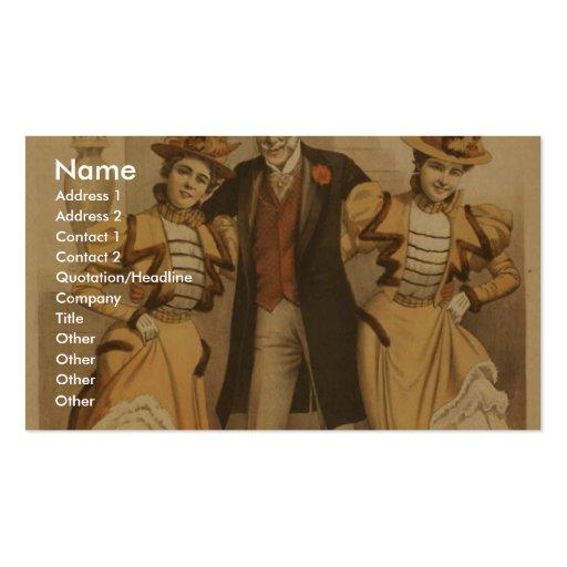 A Stranger in New York Business Card