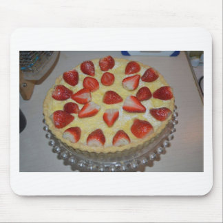 A strawberry cake mouse pad