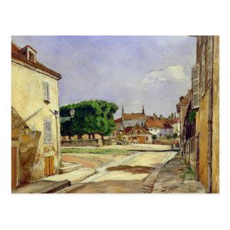 A Street in Avallon Postcard