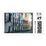 A street in Europe Stamp