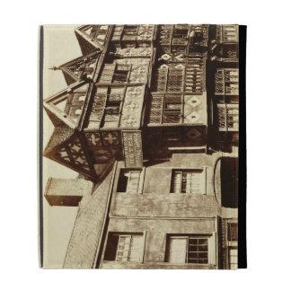 A Street in Ludlow (b/w photo) iPad Cases
