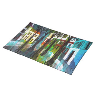 A Street in Paris Placemats