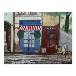 A Street in Paris Postcard