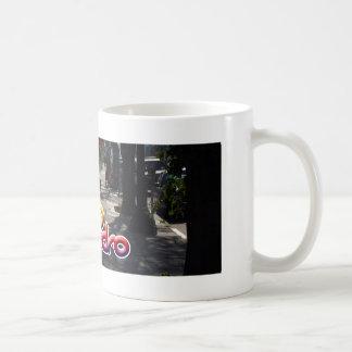 A street in San Pedro Classic White Coffee Mug