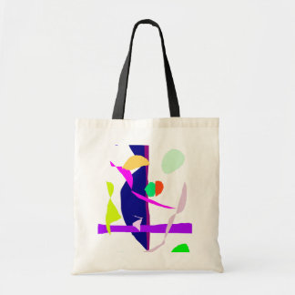 A Street Performer and His Wife Canvas Bags
