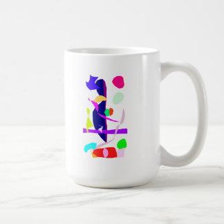 A Street Performer and His Wife Coffee Mug