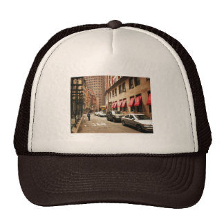 A Street Scene in the Financial District Hat