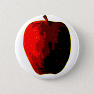 A stretcher pinback button