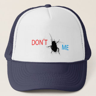 A striking colorful expressive image slogan trucker hat