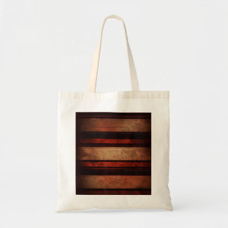 A Stripe Black And Red In A Wood Background Bag