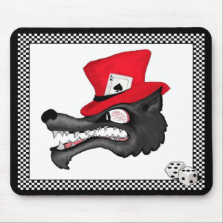A Stroke of Luck Lone Wolf  Mousepad