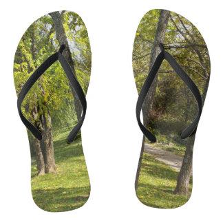 A Stroll in the Park Flip Flops