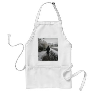 A Stroll in the Snow Apron