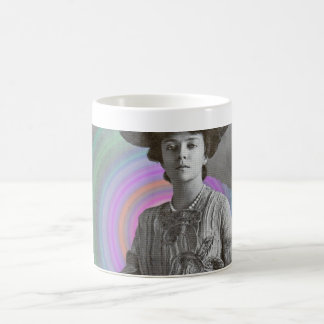 A strong Mrs. Vintage Classic White Coffee Mug