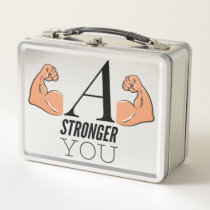 A Stronger You Metal Lunch Box