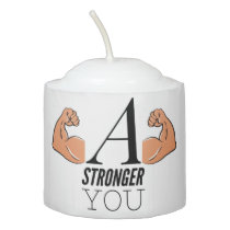 A Stronger You Votive Candle