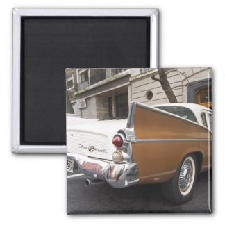 A Studebaker Silver Hawk Classic Car parked on a 2 Inch Square Magnet