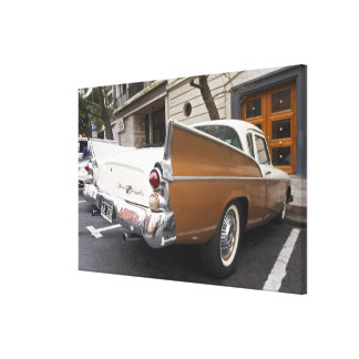 A Studebaker Silver Hawk Classic Car parked on a Canvas Print
