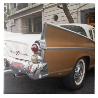 A Studebaker Silver Hawk Classic Car parked on a Ceramic Tile