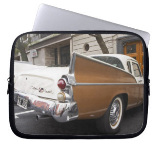 A Studebaker Silver Hawk Classic Car parked on a Laptop Sleeve