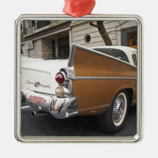 A Studebaker Silver Hawk Classic Car parked on a Metal Ornament