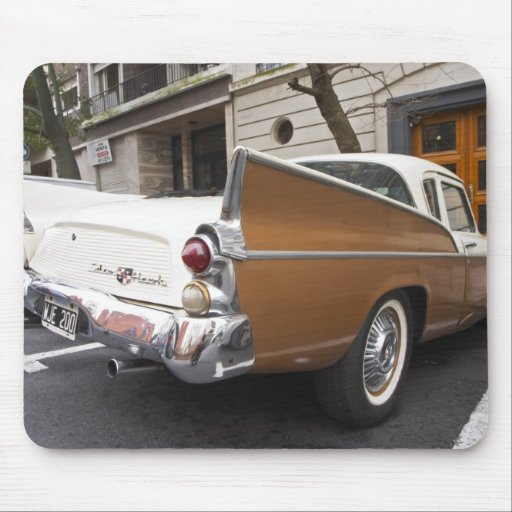 A Studebaker Silver Hawk Classic Car parked on a Mouse Pads