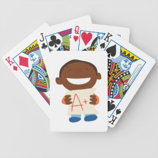 A+ Student Bicycle Playing Cards