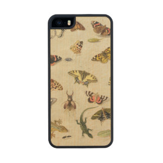 A Study of insects Carved® Maple iPhone 5 Slim Case