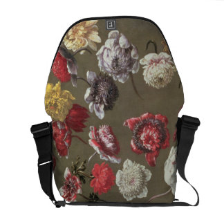 A Study of Peonies (oil on canvas) Courier Bag