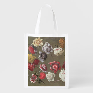 A Study of Peonies (oil on canvas) Market Tote