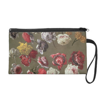 A Study of Peonies (oil on canvas) Wristlet