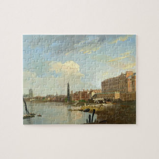 A Study of the Thames with the Final Stages of the Jigsaw Puzzle