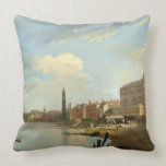 A Study of the Thames with the Final Stages of the Throw Pillow