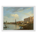 A Study of the Thames with the Final Stages of the Print