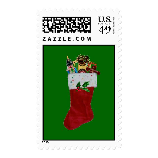 A Stuffed Stocking Postage