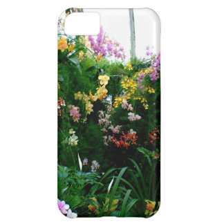 A stunning display of exotic orchids growing iPhone 5C cases