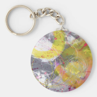 A Stunning Unique Abstract Design Keychain