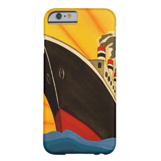 A stylish art deco boat iphone 6/6s case barely there iPhone 6 case