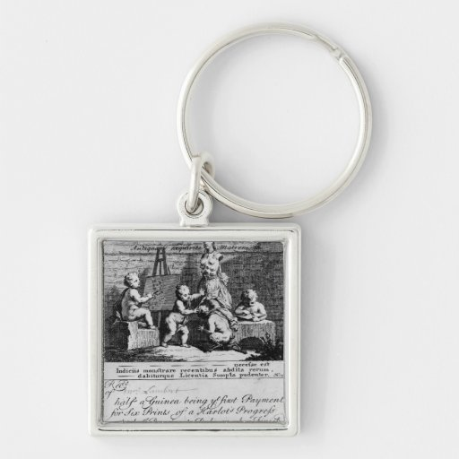 A Subscription Ticket for 'A Harlot's Keychain