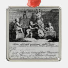 A Subscription Ticket for 'A Harlot's Metal Ornament