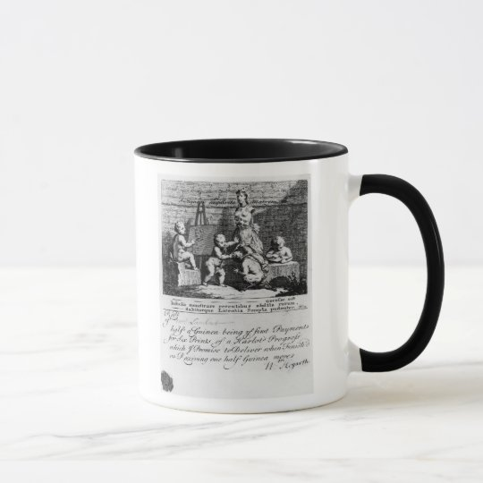A Subscription Ticket for 'A Harlot's Mug