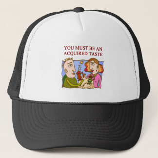 a subtle insult trucker hat