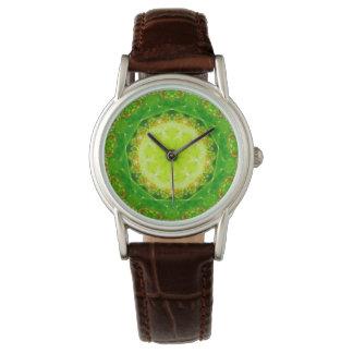 A Succulent Trap Fractal Wristwatch