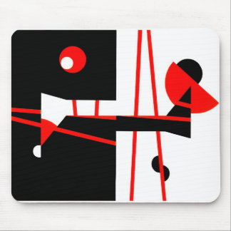 A sudden light mouse pad