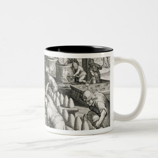 A Sugar Mill and the Production of Sugar Two-Tone Coffee Mug