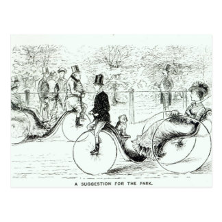 A Suggestion for the Park', 1879 Postcard