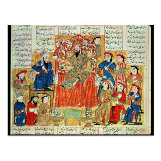 A Sultan and his Court Postcard