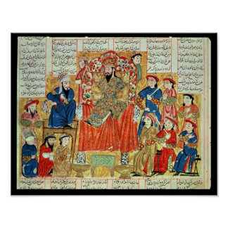 A Sultan and his Court Poster